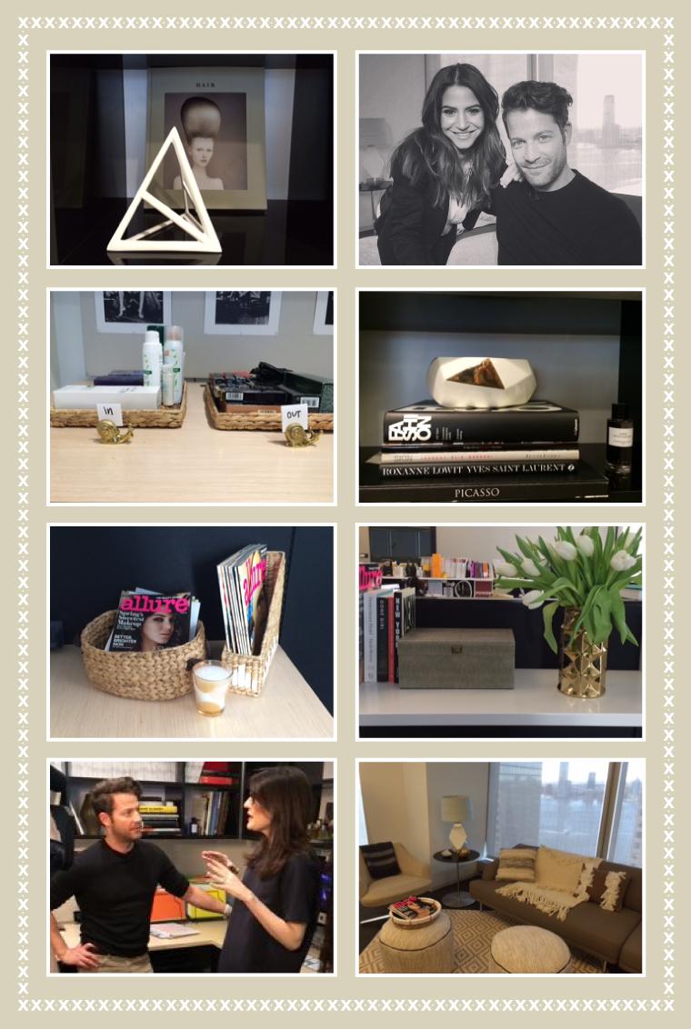 Nate Berkus In Allure Office Collage. U201c
