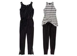 Mossimo Sleeveless Jumpsuit in Black