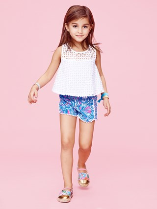 Lilly Pulitzer Look Book - Girls Apparel